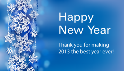 Thank you for making 2013 the best year!